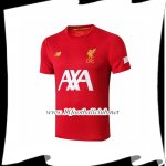 Le Nouveau Training T-Shirts FC Liverpool AXA Rouge 2019/20 Officiel
