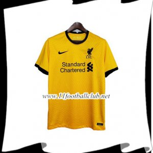 Maillot de Foot FC Liverpool Gardien de But Jaune 2020/2021