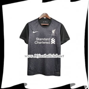 Maillot de Foot FC Liverpool Gardien de But Noir 2020/2021